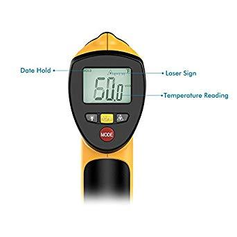 TH-IR20 Digital Infrared Thermometer Temperature Gun Non-contact