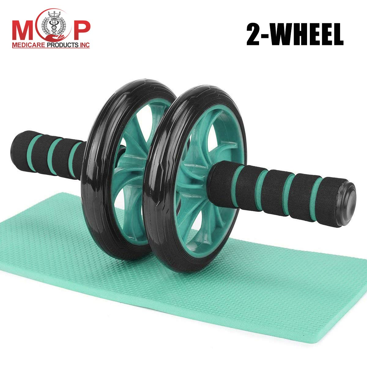 Body Fitness Strength Training Machine AB Wheel Gym Tool,for Body Building Fitness AB Carver Pro Roller,AB Roller Wheel And Mat,Ab Roller Abdominal Trainer,With Extra Thick Knee Pad Mat