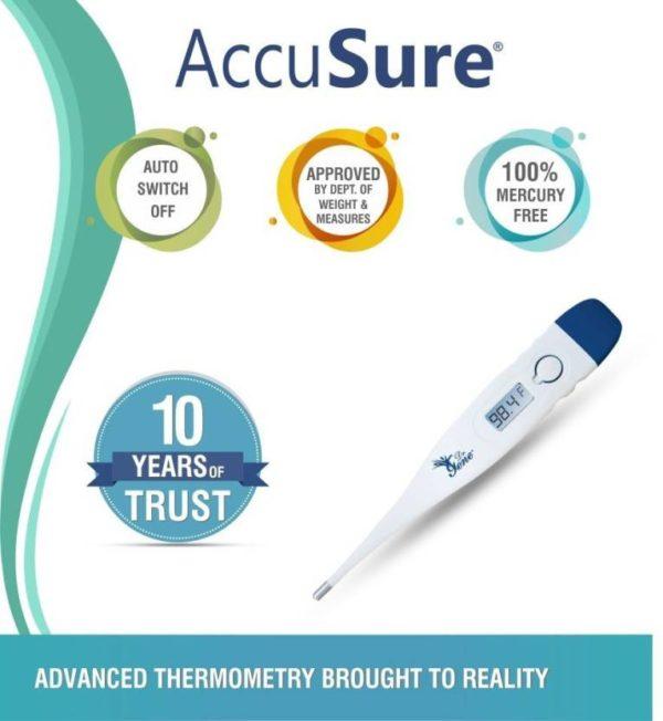 accusure mt1027 digital Thermometer 2
